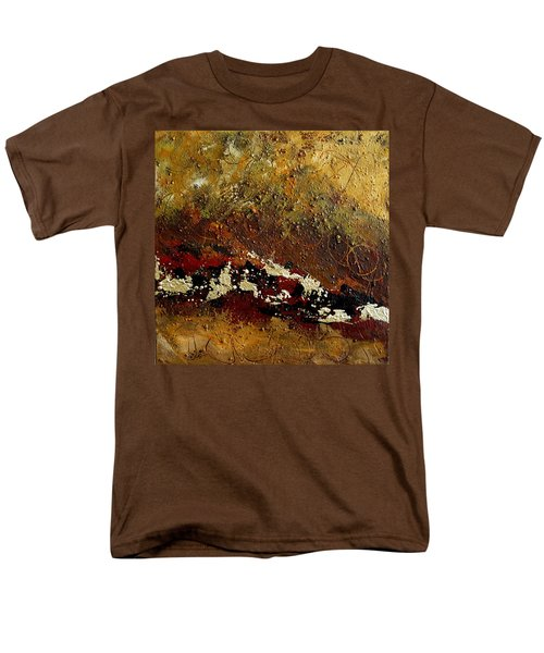 Earth Abstract Four Men's T-Shirt  (Regular Fit) by Lance Headlee
