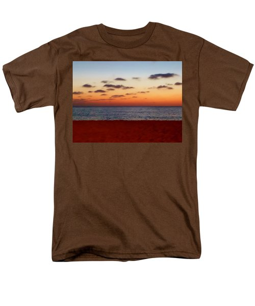 Men's T-Shirt  (Regular Fit) featuring the photograph Easter Sunset by Amar Sheow