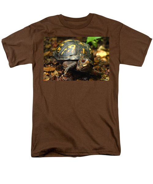 Eastern Box Turtle Men's T-Shirt  (Regular Fit) by Michael Eingle