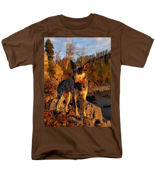 Men's T-Shirt  (Regular Fit) featuring the photograph Edge Of Glory by James Peterson