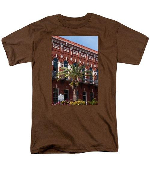Men's T-Shirt  (Regular Fit) featuring the photograph El Centro Espanol De Tampa by Paul Rebmann