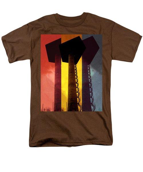 Men's T-Shirt  (Regular Fit) featuring the photograph Elastic Concrete Part Three by Sir Josef - Social Critic - ART