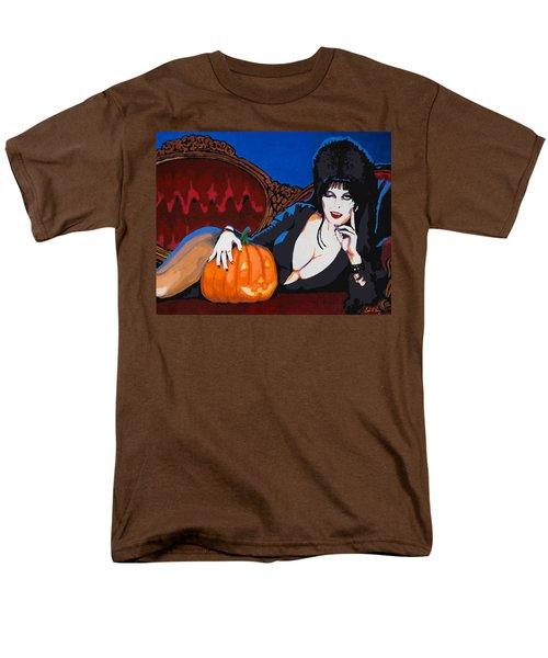 Elvira Dark Mistress Men's T-Shirt  (Regular Fit) by Dale Loos Jr