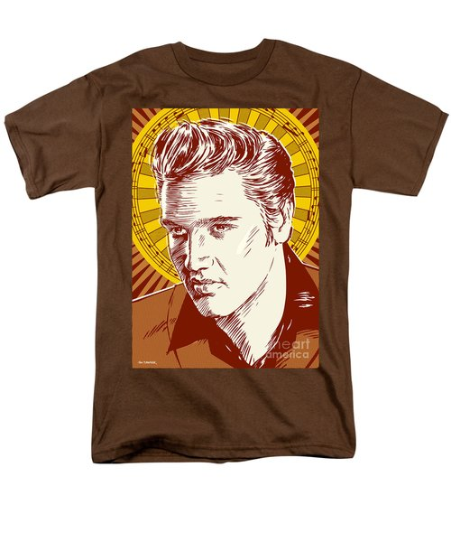 Elvis Presley Pop Art Men's T-Shirt  (Regular Fit) by Jim Zahniser
