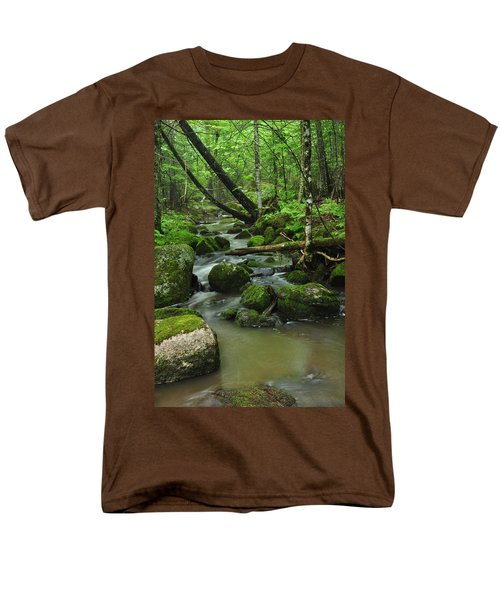 Emerald Forest Men's T-Shirt  (Regular Fit) by Glenn Gordon