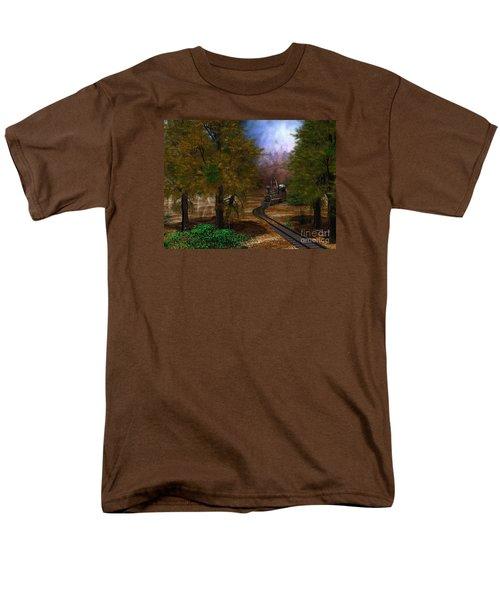 Emergence Men's T-Shirt  (Regular Fit) by Shari Nees