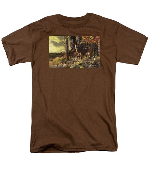 Eminence At The Forest Edge Men's T-Shirt  (Regular Fit) by Rob Corsetti