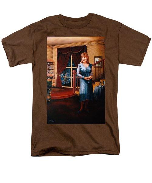 Delaina Men's T-Shirt  (Regular Fit) by Duane R Probus