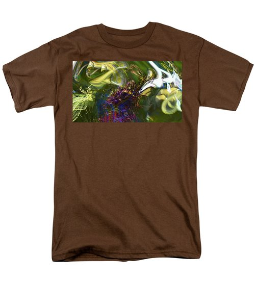 Men's T-Shirt  (Regular Fit) featuring the photograph Esprit Du Jardin by Richard Thomas