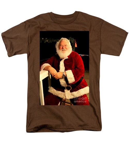 Even Santa Needs A Break Men's T-Shirt  (Regular Fit)
