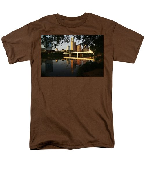 Evening Along The River Men's T-Shirt  (Regular Fit) by Dave Files