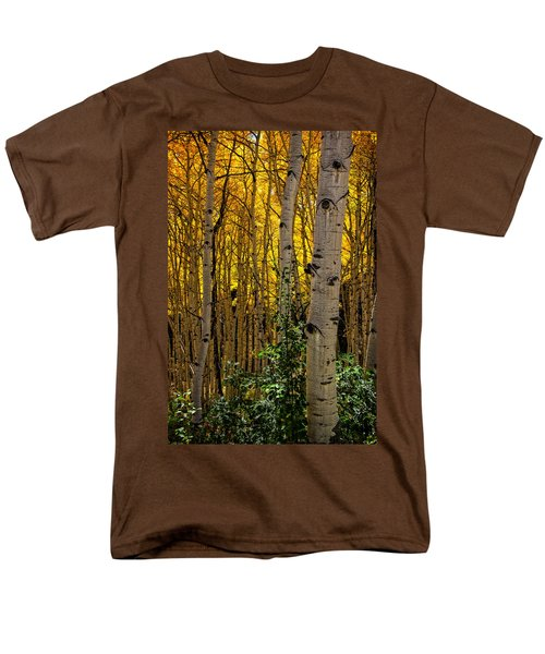 Men's T-Shirt  (Regular Fit) featuring the photograph Eyes Of The Forest by Ken Smith