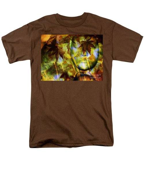 Face In The Rock Dreams Of Tulips Men's T-Shirt  (Regular Fit) by Elizabeth McTaggart