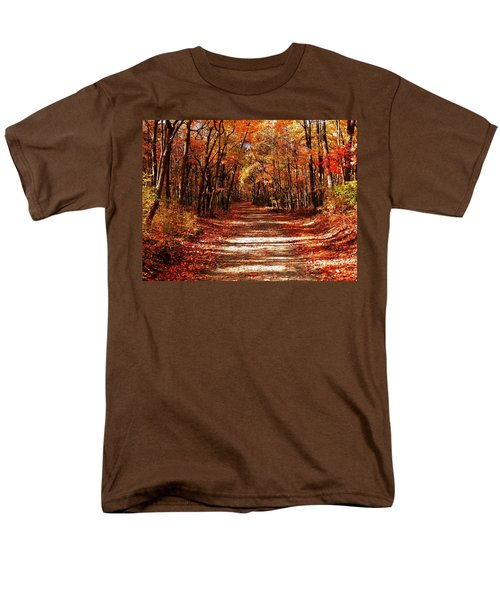 Men's T-Shirt  (Regular Fit) featuring the photograph Fall At Cheesequake by Raymond Salani III