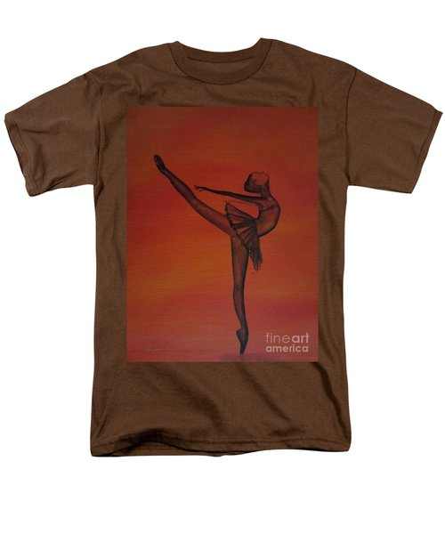 Men's T-Shirt  (Regular Fit) featuring the painting Fall Dancer 1 by Laurianna Taylor
