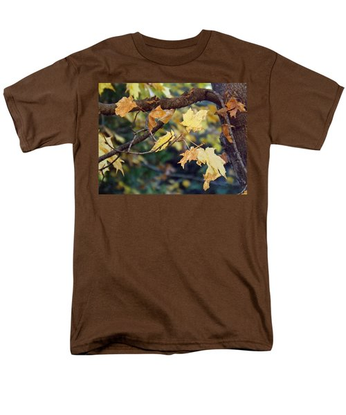 Fall Foilage Men's T-Shirt  (Regular Fit) by Brenda Brown