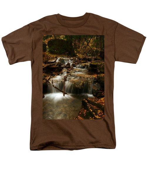 Fall With Grace Men's T-Shirt  (Regular Fit) by Jeremy Rhoades