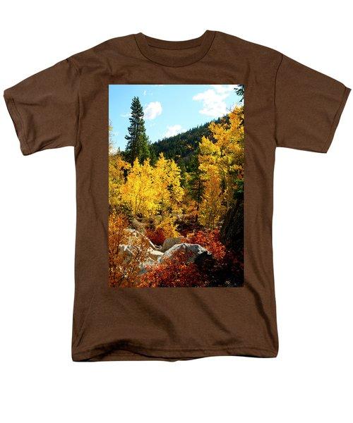 Fall2 Men's T-Shirt  (Regular Fit) by Jeremy Rhoades