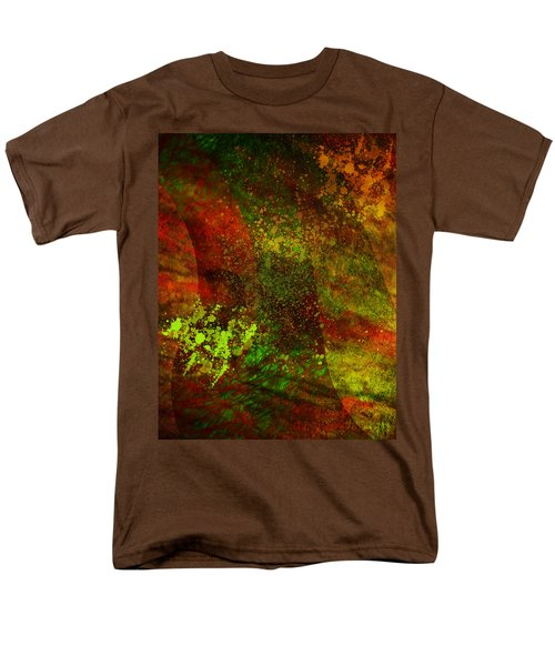 Men's T-Shirt  (Regular Fit) featuring the mixed media Fallen Seasons by Ally  White