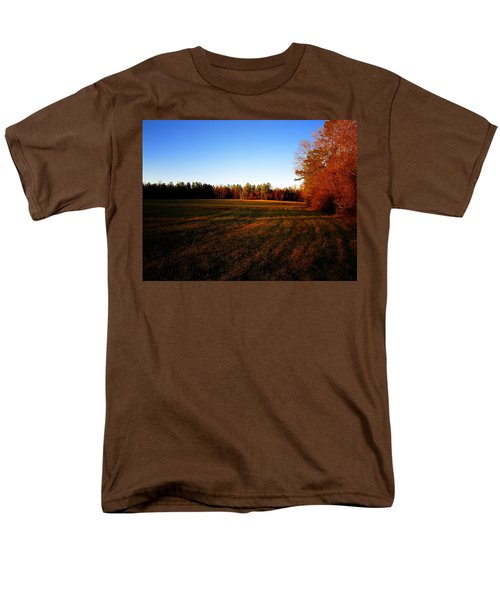 Men's T-Shirt  (Regular Fit) featuring the photograph Fallow Field by Greg Simmons