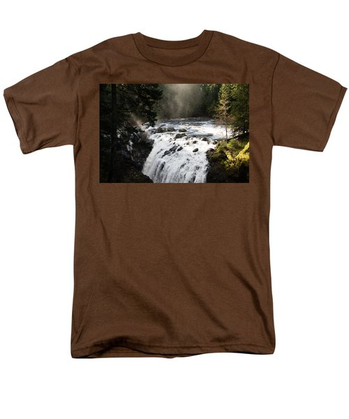 Waterfall Magic Men's T-Shirt  (Regular Fit) by Marilyn Wilson