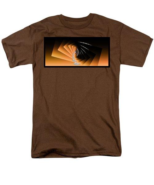 Fantasim Orange Men's T-Shirt  (Regular Fit) by Paula Ayers