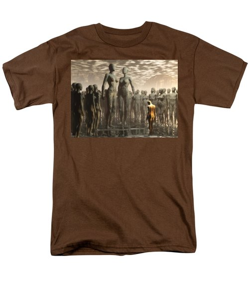 Men's T-Shirt  (Regular Fit) featuring the digital art Fate Of The Dreamer by John Alexander