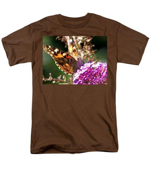 Men's T-Shirt  (Regular Fit) featuring the photograph Feeding by Eunice Miller