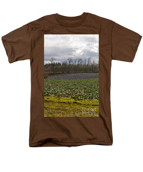 Men's T-Shirt  (Regular Fit) featuring the photograph Field Of Color 2 by Belinda Greb