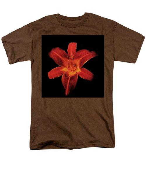 Fire Lily Men's T-Shirt  (Regular Fit) by Michael Porchik