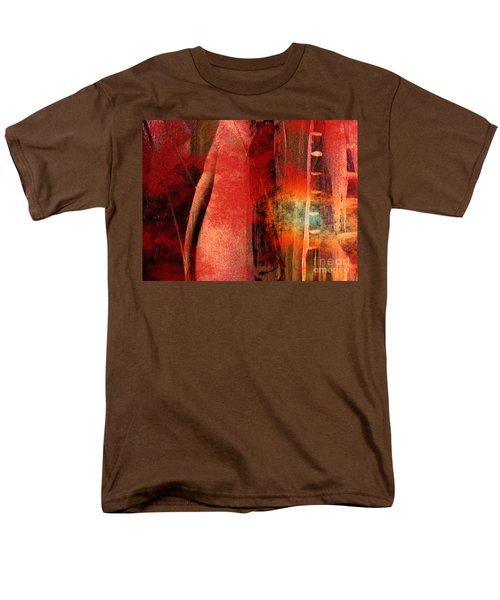 Firefall  Men's T-Shirt  (Regular Fit) by Yul Olaivar