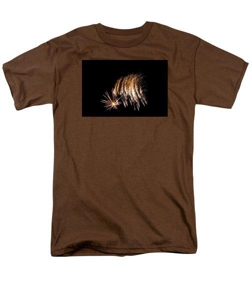Men's T-Shirt  (Regular Fit) featuring the photograph Fireworks 1 by Susan  McMenamin