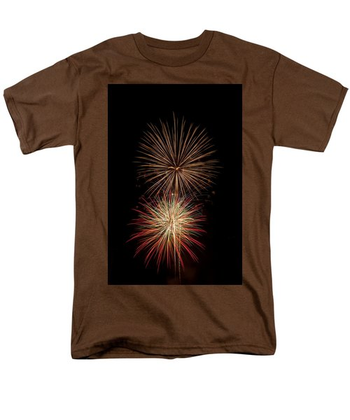 Fireworks Men's T-Shirt  (Regular Fit) by Michael McGowan