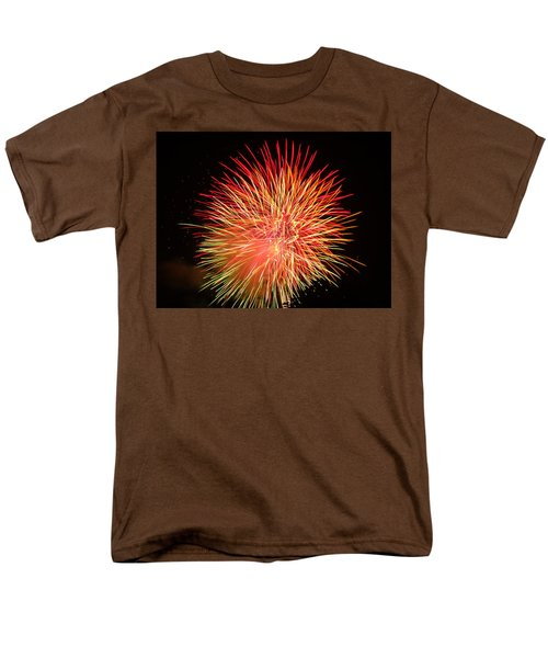 Fireworks  Men's T-Shirt  (Regular Fit) by Michael Porchik