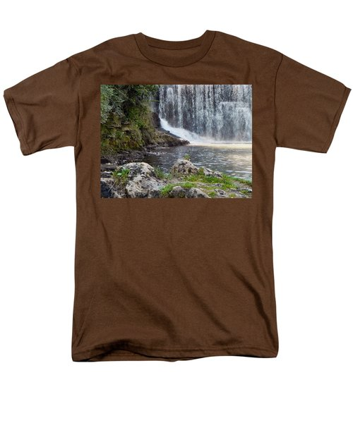 Men's T-Shirt  (Regular Fit) featuring the photograph Fishing Hole by Deb Halloran