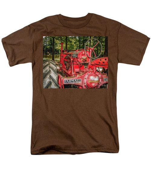 Flash On Farmall Men's T-Shirt  (Regular Fit) by Robert Frederick
