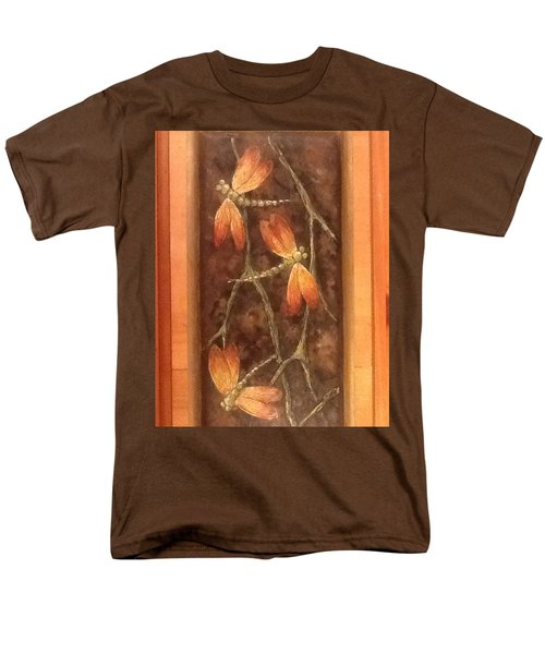 Men's T-Shirt  (Regular Fit) featuring the painting Flight Of The Dragons by Megan Walsh