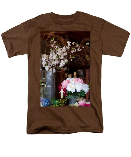 Floral Display Men's T-Shirt  (Regular Fit) by Liane Wright