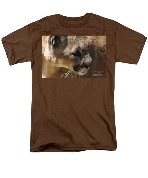Men's T-Shirt  (Regular Fit) featuring the photograph Florida Panther by Meg Rousher