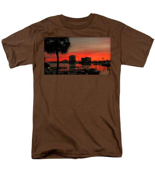 Men's T-Shirt  (Regular Fit) featuring the photograph Florida Sunset by Hanny Heim