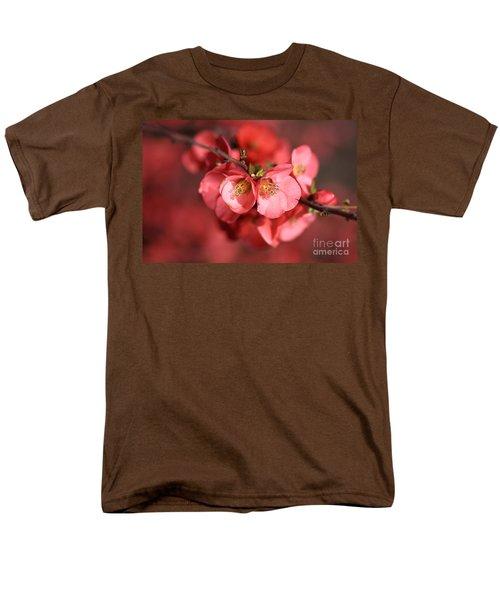 Flowering Quince Men's T-Shirt  (Regular Fit) by Joy Watson