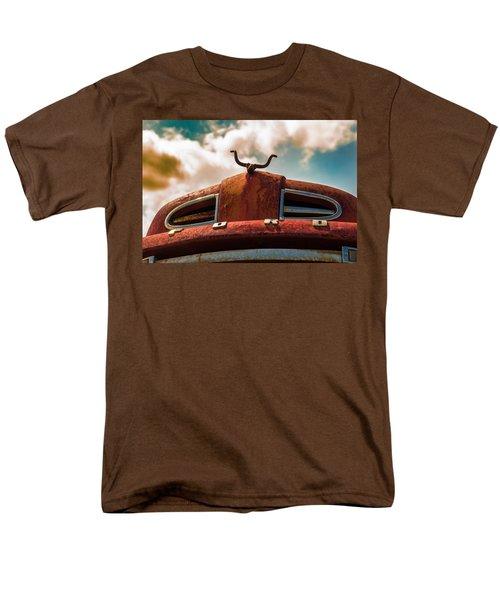 Ford Hood Ornament Men's T-Shirt  (Regular Fit) by Bartz Johnson
