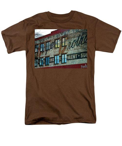 Fords Restaurant In Greenville Sc Men's T-Shirt  (Regular Fit) by Kathy Barney