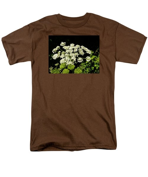 Men's T-Shirt  (Regular Fit) featuring the photograph Forest Lace by VLee Watson