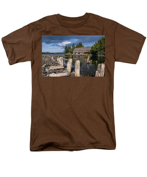 Forgotten Downeast Smokehouse Men's T-Shirt  (Regular Fit) by Marty Saccone