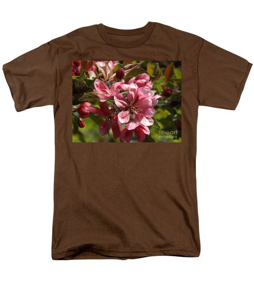 Fragrant Crab Apple Blossoms Men's T-Shirt  (Regular Fit) by Brenda Brown
