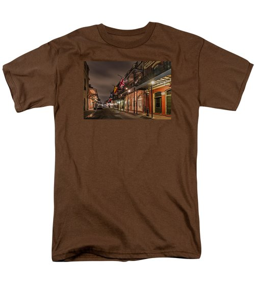 French Quarter Flags Men's T-Shirt  (Regular Fit) by Tim Stanley