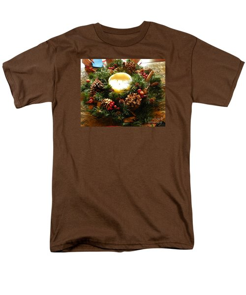 Friendly Holiday Reef Men's T-Shirt  (Regular Fit) by Robin Coaker