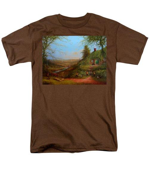 Frodo's Inheritance Bag End Men's T-Shirt  (Regular Fit) by Joe  Gilronan