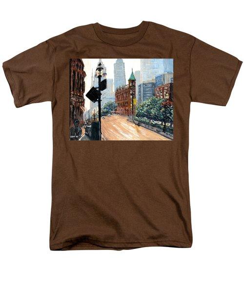 Front And Church Men's T-Shirt  (Regular Fit) by Ian  MacDonald
